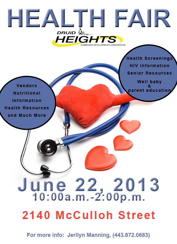Druid Heights Health Fair