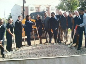 ground breaking baker view 2009
