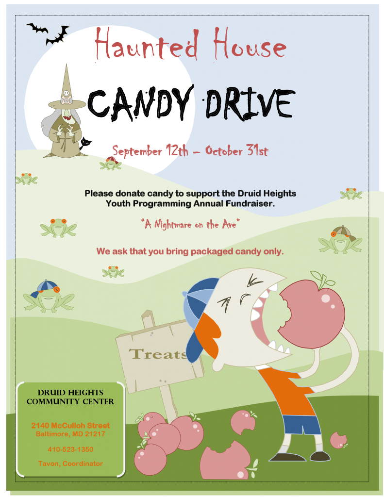 Haunted House Candy Drive 2014