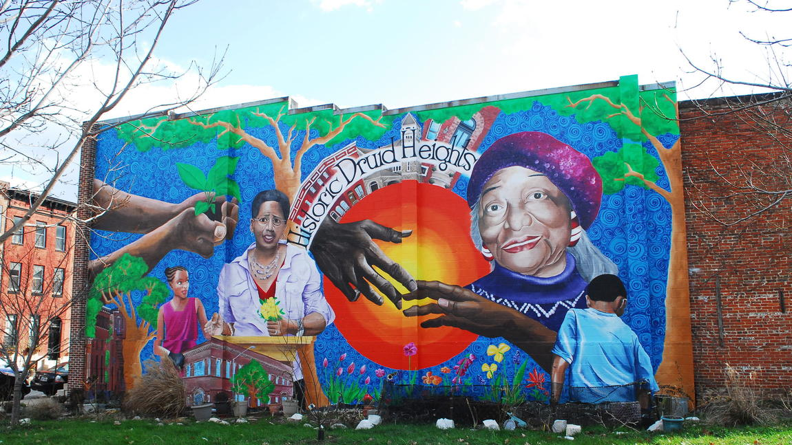 Druid heights cdc for Baltimore mural program